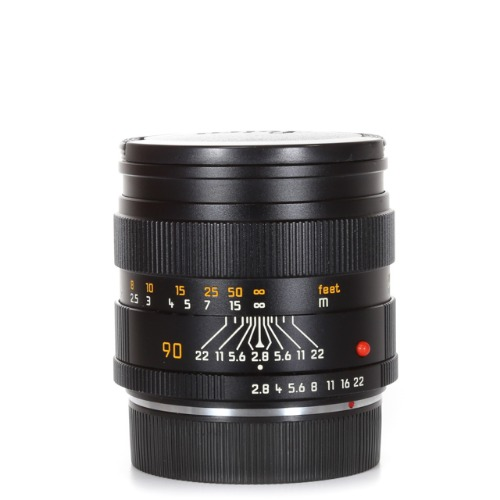 Leica R-90mm f/2.8 Elmarit Black