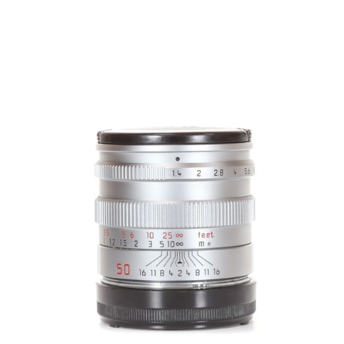 Leica L-50mm f/1.4 Summilux 4th Silver