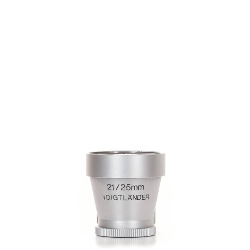 Voigtlander 21-25mm Finder Silver