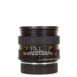 Leica R-50mm f/1.4 Summilux E55 ROM Black