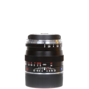 Zeiss Planar T* 50mm F2 ZM Black