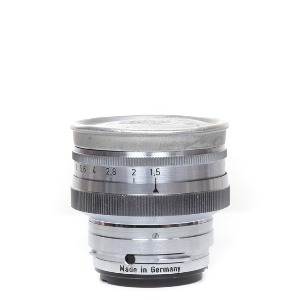 Contax 50mm f/1.5 Zeiss-Opton Sonnar Silver