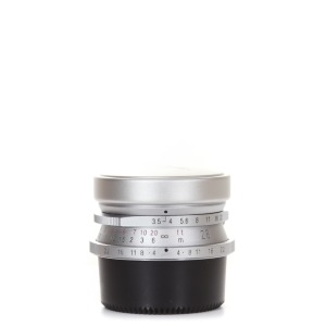 Voigtlander L-28mm f/3.5 Color-Skopar Silver