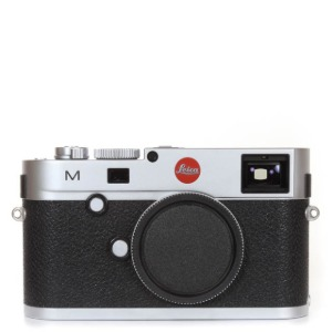Leica M type 240 Silver + Thumb up + Case + Strap