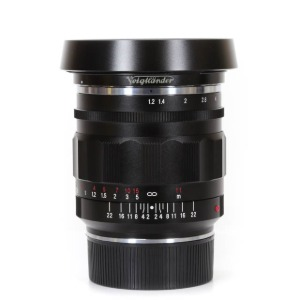 Voigtlander M-35mm f/1.2 Nokton Aspherical II Black