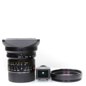 Leica M-18mm f/3.8 Super-Elmar ASPH 6bit Black