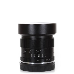 7Artisans E-12mm F/2.8 Black (Sony E-Mount Lens)
