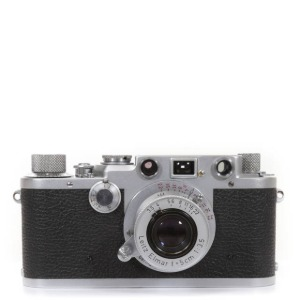 Leica Barnack IIIf + L-50mm f/3.5 Red Elmar Silver Set