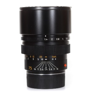 Leica M-75mm f/1.4 Summilux Made in Germany